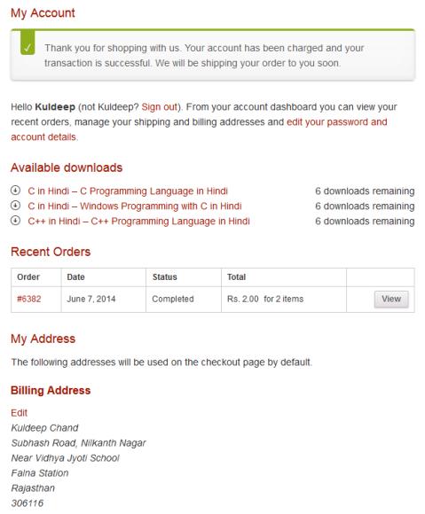 How to Pay Online using CCAvenue - BccFalna.com