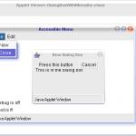 Dialog Box in Java