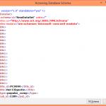 Database Schema Query