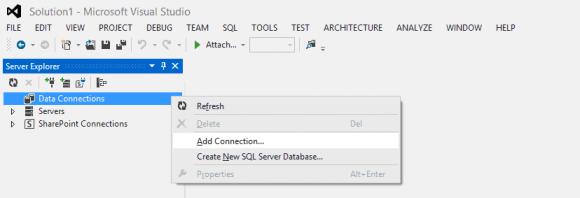 Visual Studio SQL Server Configuration - Hindi