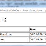PHP MySQL Insert – Select – Query