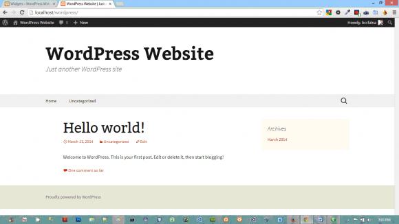 How to Edit Header in WordPress - Hindi