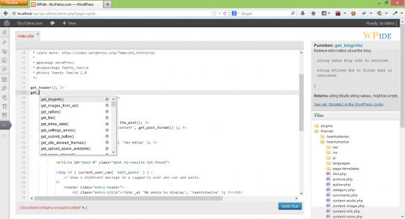 WPIDE Plugin - The WordPress IDE - Hindi