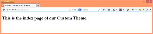 WordPress 404 Error - Template Selection - Hindi