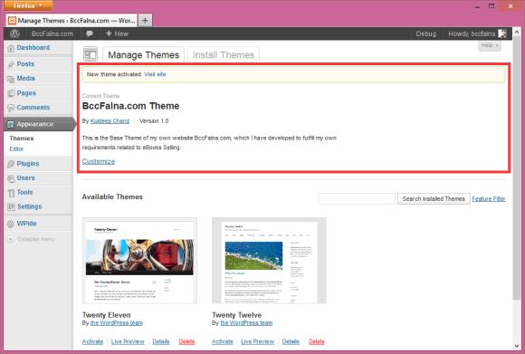 WordPress Loading - The Rendering Sequence - Hindi