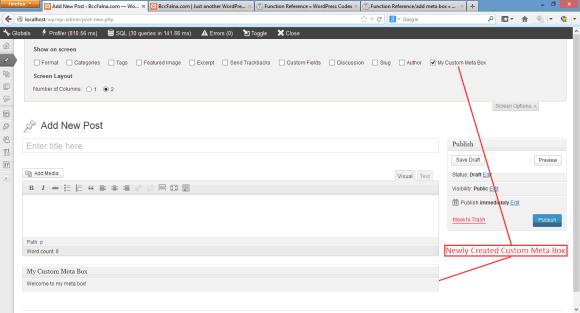 WordPress Meta Box - Add, Get, Save, Delete in Hindi