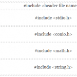 Header Files in C - Hindi
