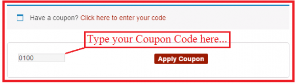 How to Apply Couponn Code