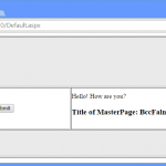 How to Access Master Page Control in Child Page