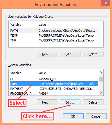 Path Setup in Windows using GUI in Hindi