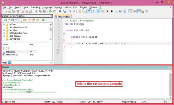 Notepad++ IDE - Hindi