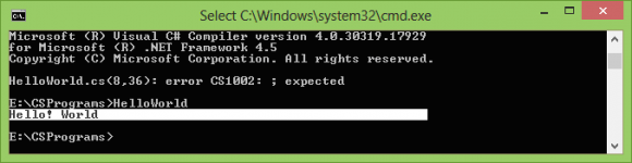 Using C# Compiler Command Line Configuration Steps
