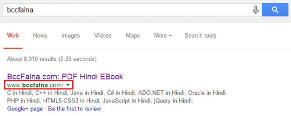 Google's 200 Search Ranking Factors - Complete List in Hindi