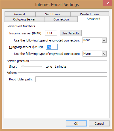 Outlook-EMail-Settings-Configuration