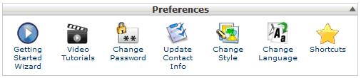 cPanel Preferences in Hindi