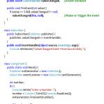 C# Event Handler - Hindi