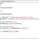 C# File - Hindi