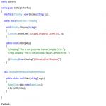 C# Interface Example - Hindi