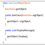 Generics Base Class Constraint