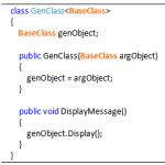 Generics Base Class Constraint - Hindi