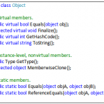 system.object Class in C#