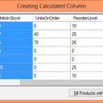 C# DataTable Compute Column Adding