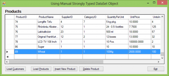 C# Insert into Database using Generated Code - Hindi