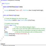 C# Timer Example - Hindi