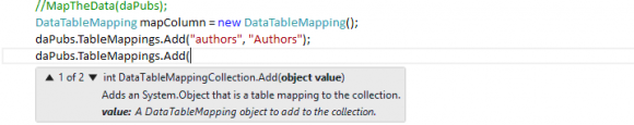 Data Mapping in ADO.NET - Hindi