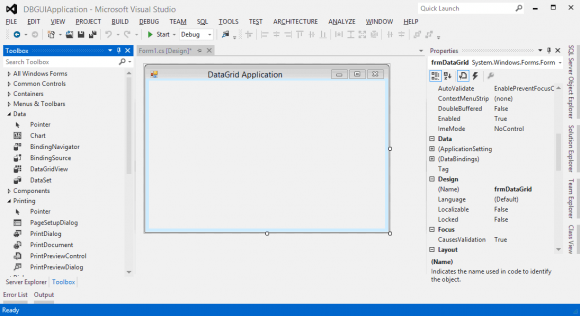 GridView Control - Windows Database Application - Hindi 1