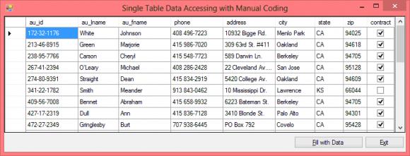 SqlDataAdapter Example in C# - Manual Code - Hindi