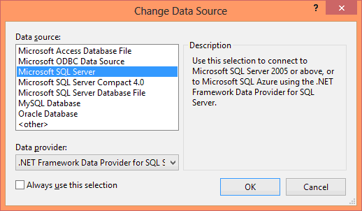 Visual Studio SQL Server Configuration - Hindi