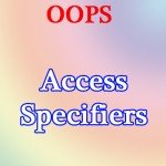 PHP Variable Scope – Access Specifiers