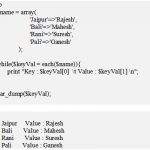 PHP each () - The Iterators Functions - Hindi