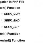 File Navigation PHP Functions - Hindi