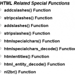 PHP HTML Functions - Hindi