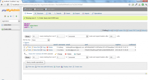 phpMyAdming with MySQL  - Hindi