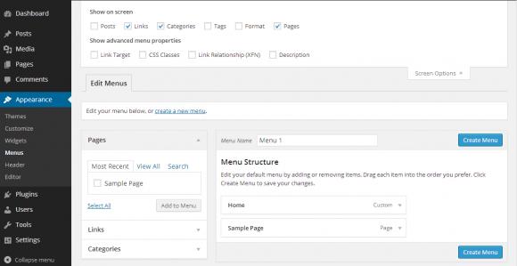 How to Add Menu in WordPress - Hindi