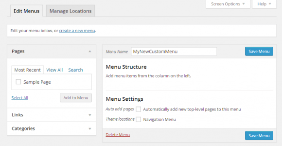How to Add Menu in WordPress - Hindi