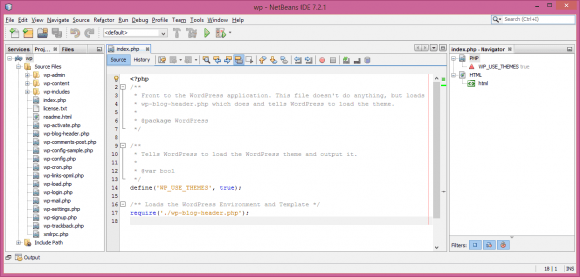 NetBeans IDE for WordPress - Hindi