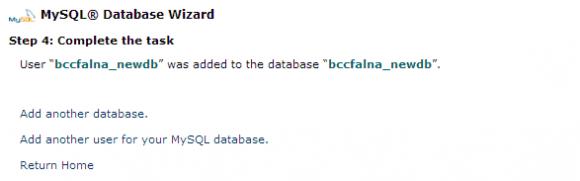 cPanel Database Management - Hindi