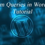 WP Custom Query – on Custom Tables