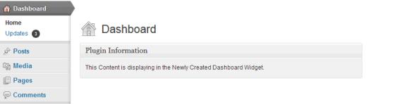 WordPress Dashboard Widget - Create Step by Step in Hindi
