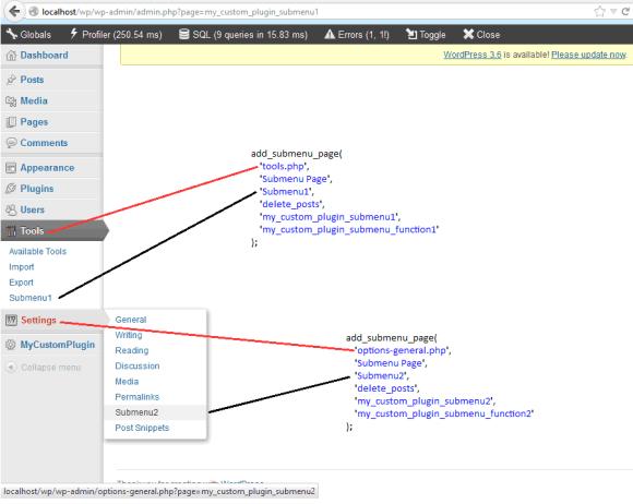 add_menu_page Submenu in WordPress in Hindi