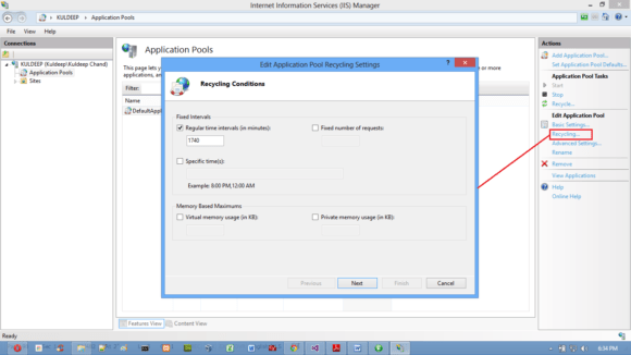 Configuring IIS for ASP.NET Applications - Hindi