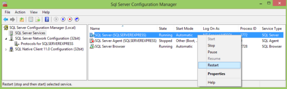 SQL Server Setup - Configuring MSSQL Server Express - Hindi