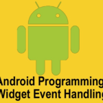 Internal Working of Event Handling in Android