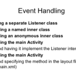 Event Handler Implementation within Activity Class - ITeBooks in Hindi