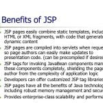 Benefits of JSP - Core JSP in Hindi - BccFalna.com