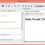 NetBeans Configuration for JSP Development - Core JSP in Hindi